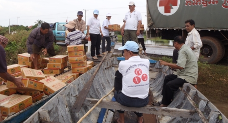 Oum Manira allegedly embezzled Cambodian Red Cross funds in 2009