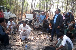 Villagers in Northeast Cambodia Refuse to Give Up Land for Rubber Plantation